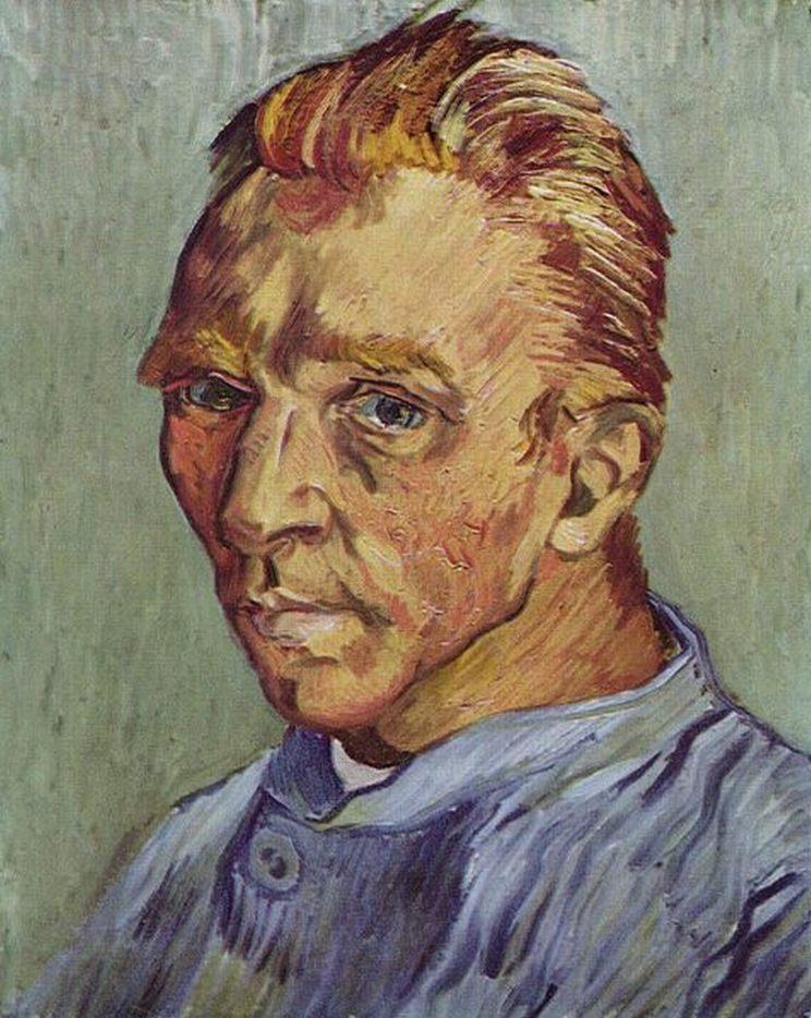 Laatste zelfportret van Vincent van Gogh - September 1889