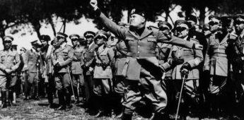 "Benito Mussolini (1883-1945): ""Il Duce"", dictator van Italië"
