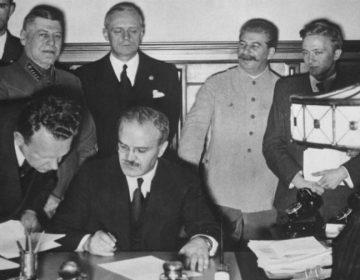 Ondertekening van het Molotov-Ribbentroppact