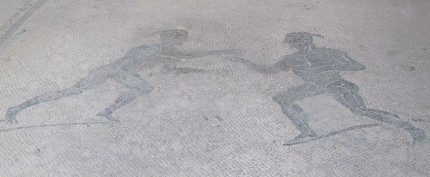 Mozaïk in Pompeii / cc