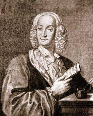 Portret van Antonio Vivaldi, 1725