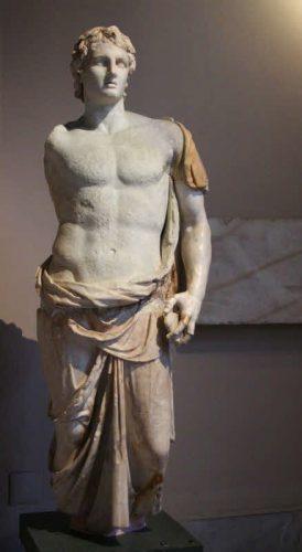 Standbeeld van Alexander de Grote in Istanboel - cc