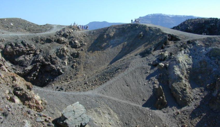 Thera - Vulkanische kraters