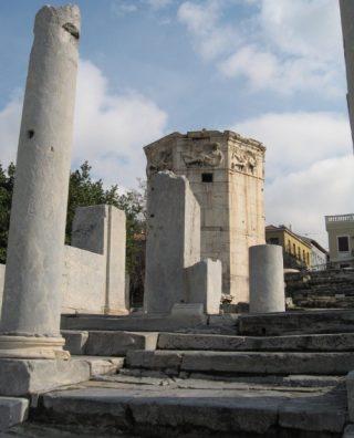 Toren van de Winden in Athene - cc