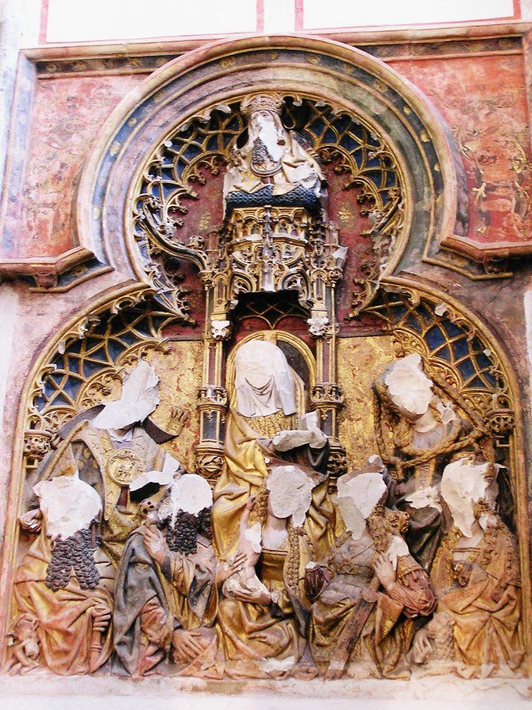 Vernieling in de Dom van Utrecht - cc
