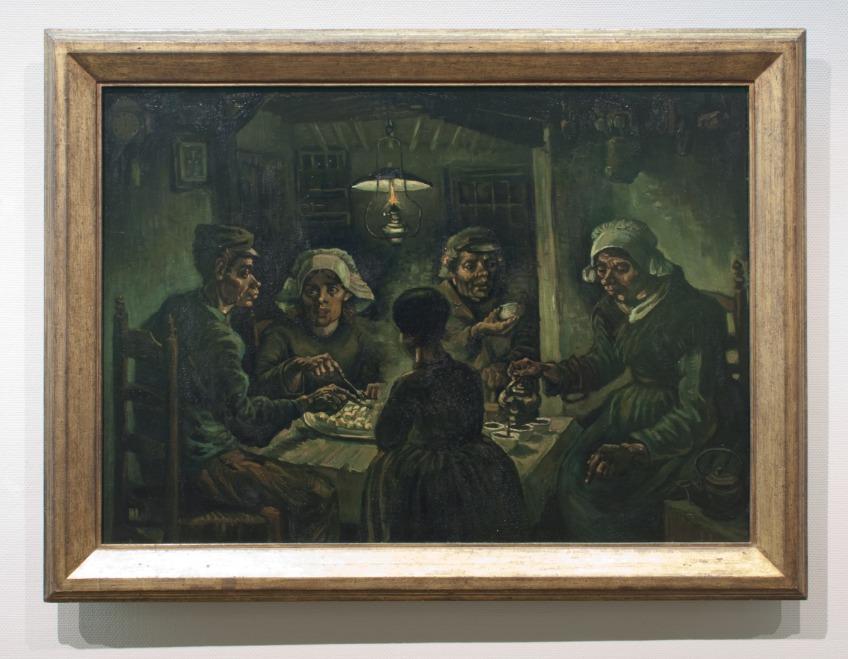 De aardappeleters, Vincent van Gogh (1885)