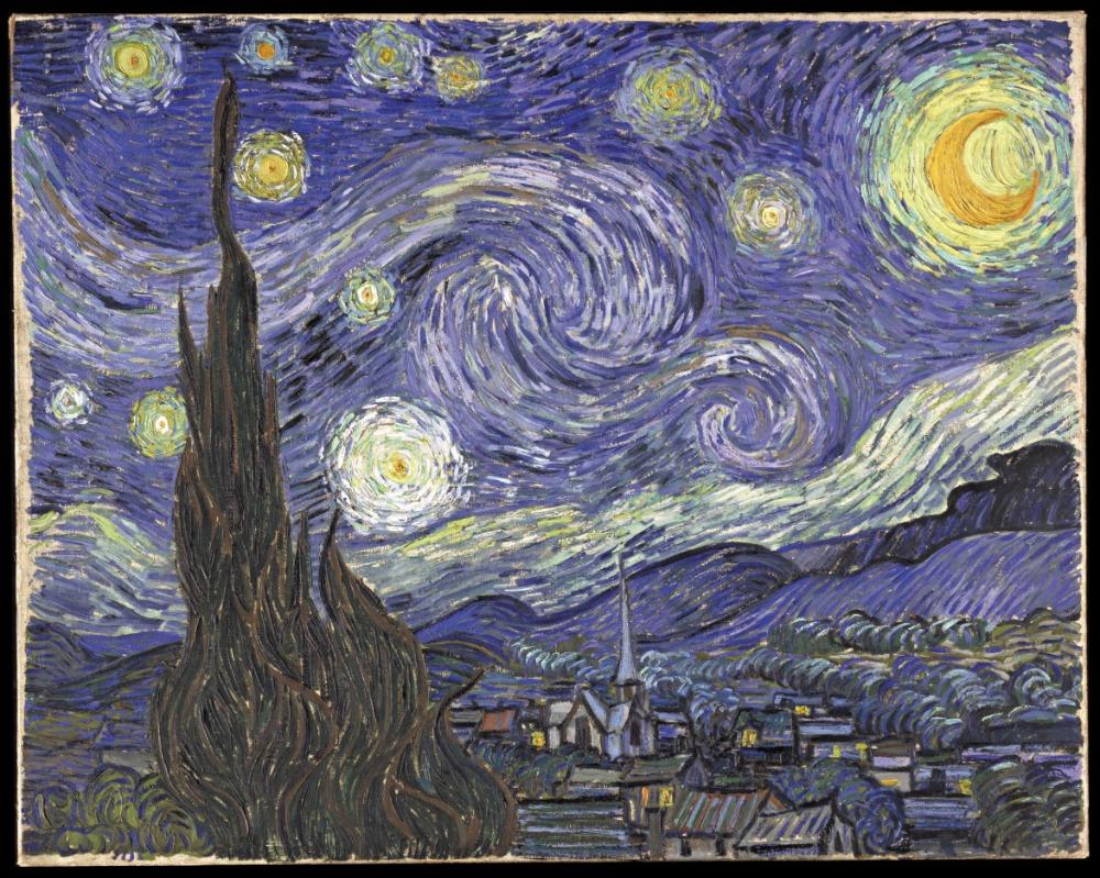 De sterrennacht, 1889