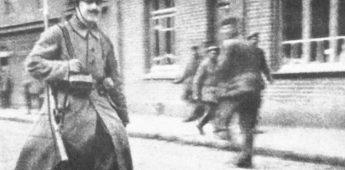 Adolf Hitler tijdens de Eerste Wereldoorlog