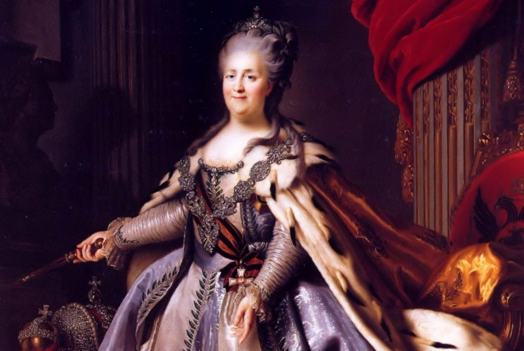 Catharina de Grote in 1770