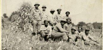 Zwarte soldaten begroeven blanke gesneuvelden in Margraten