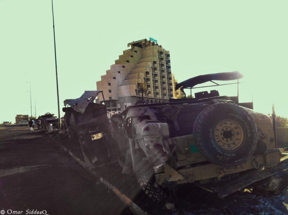 Mosoel na een aanval van IS (Omar Siddeeq Yousif - cc)