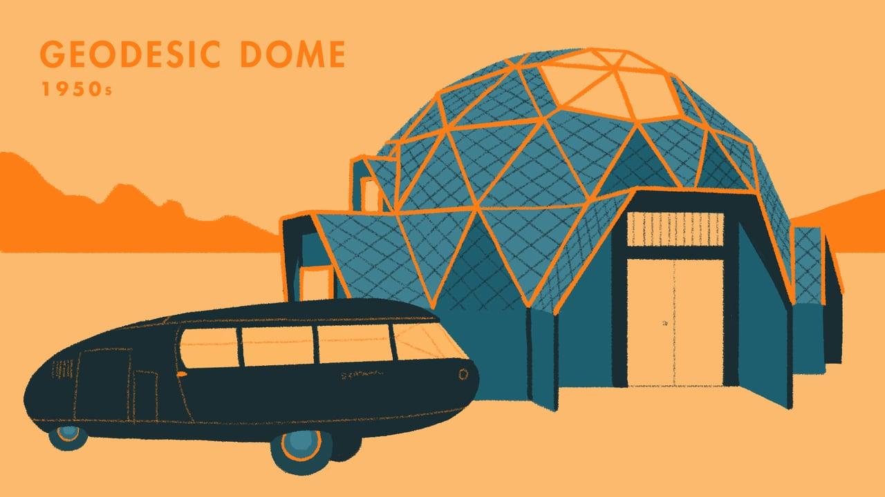 Wonen, van grot tot containerwoning (animatie)