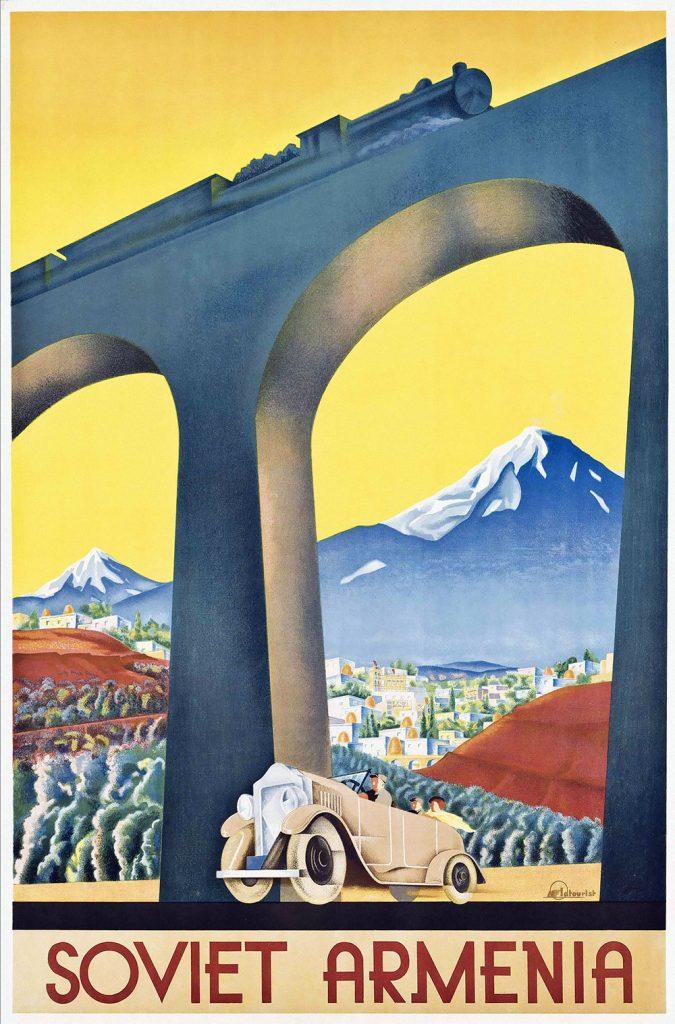 Affiche Sovjet-Armenië, Sergey Igumnov, 1935