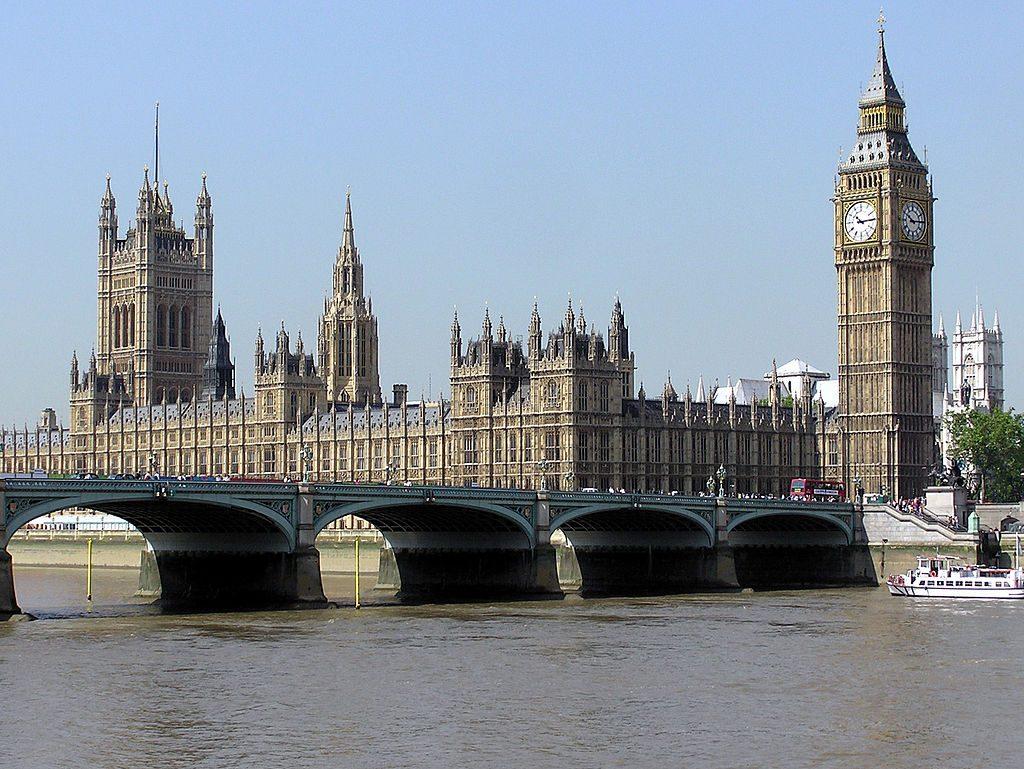 De Big Ben en het Paleis van Westminster zijn een voorbeeld van de belangstelling voor de middeleeuwen in de architectuur