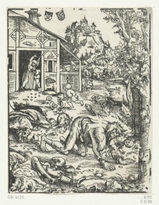 Petronius schrijft in de oudheid al over weerwolven en ook in de middeleeuwen zijn ze vaak het onderwerp van volksverhalen.