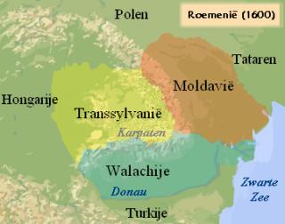 De drie vorstendommen in 1600. Bron: cc