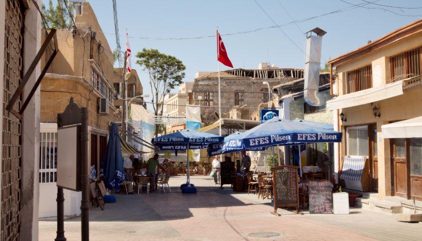 De stad Ledra in Noord-Cyprus - cc