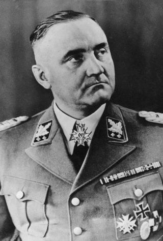 Gottlob Berger, SS-Obergruppenf¸hrer en generaal van de Waffen-SS. Bron: Bundesarchiv
