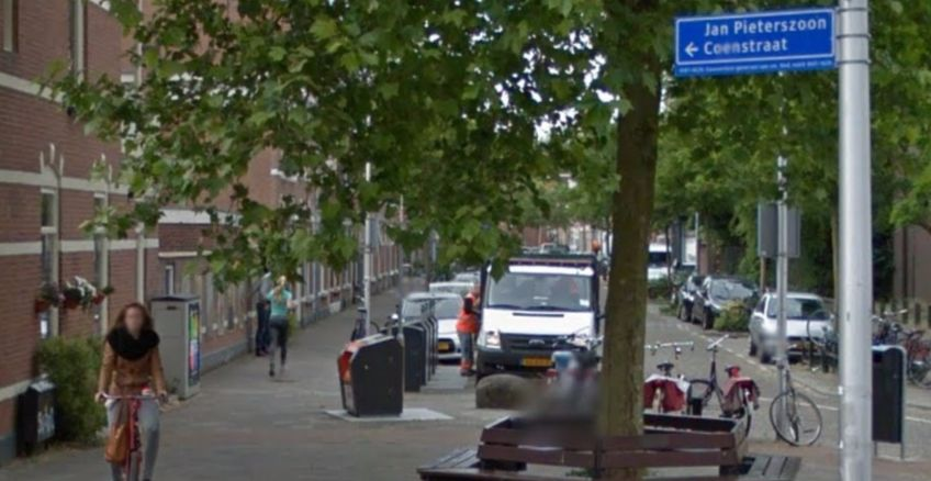 Jan Pieterszoon Coen-straat in Utrecht (Google Maps)