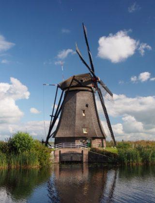 Molen in Kinderdijk - cc
