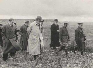 Negrín aan het front, 1937