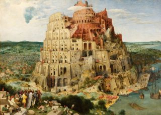 Babylonische spraakverwarring - Pieter Brueghel de Oude, de toren van Babel