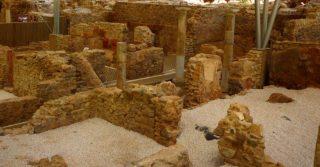 Ruïnes van een Romeins gebouw in Spanje - cc