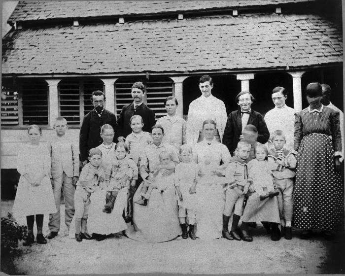 Boeren kolonisten. Foto: Tropenmuseum.