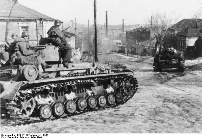 De Waffen-SS in de Charkov
