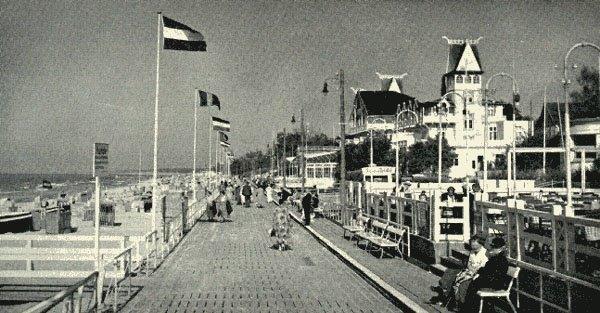 Badplaats Cranz, bron: vooroorlogse ansichtkaart