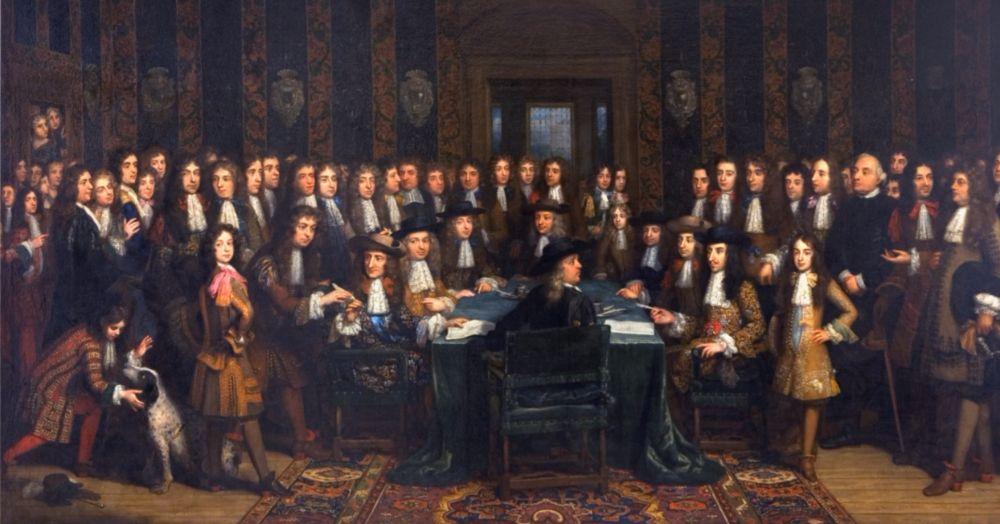 De ondertekening van de Vrede van Nijmegen (Henri Gascard)