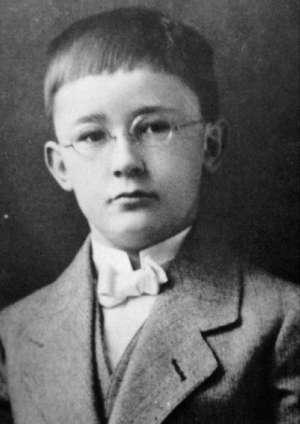 Heinrich Himmler in 1907
