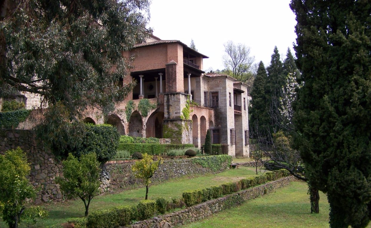 Klooster van Yuste waar de keizer de laatste jaren van zijn leven doorbracht - cc