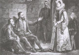 Pérégin de la Grange en Guido de Bres in de gevangenis