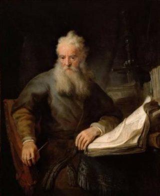 Paulus, zoals voorgesteld door Rembrandt (1633 of 1635)