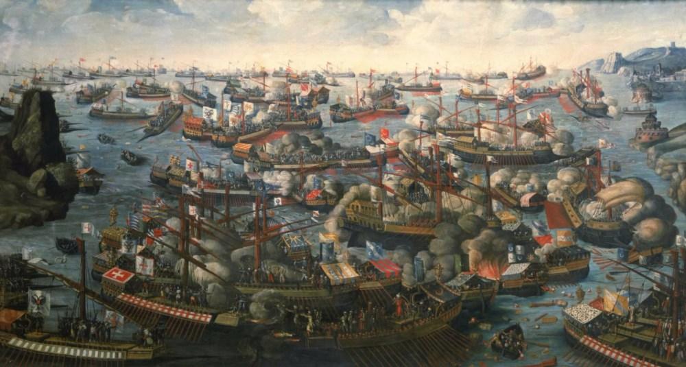 Slag bij Lepanto, 7 oktober 1571