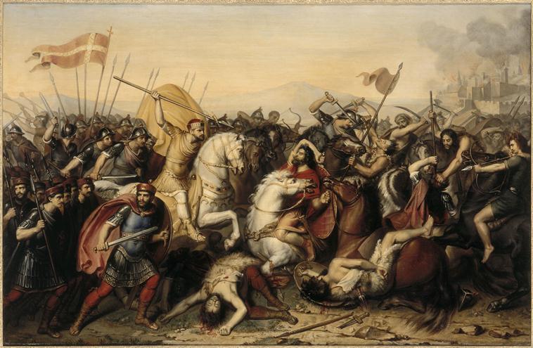 Slag bij Saucourt - Jean-Joseph Dassy