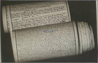 Tekst die De Sade in de Bastille schreef - cc