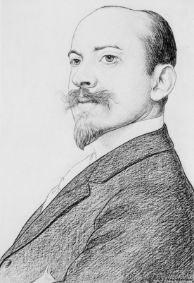 Tekening door Haverman, 1897