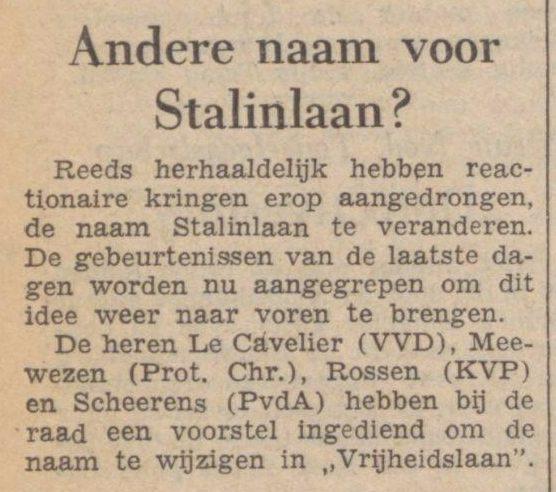 De waarheid - 7 november 1956 (Delpher)