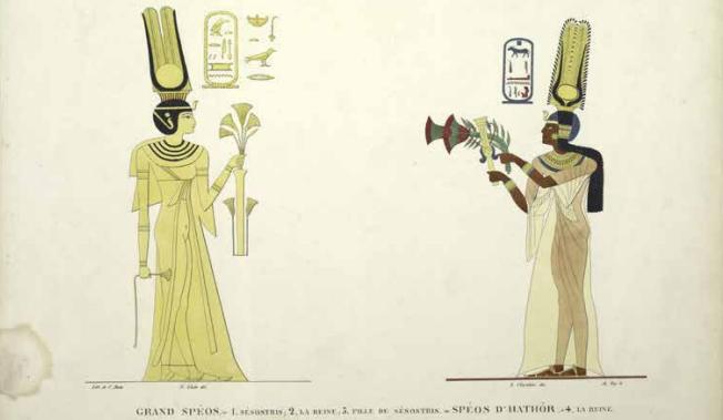 Afbeeldingen: Koninginnen van de Nijl