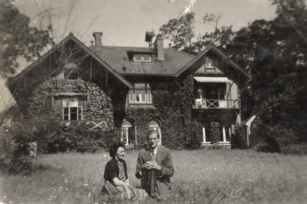Het ouderlijk huis van Jan van Bommel, juni 1944. Afbeeldingen: Maarten van Bommel