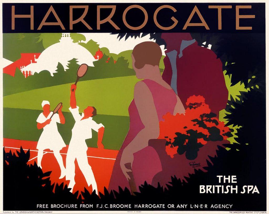 Affiche Herrogate, Tom Purvis, ca. 1928