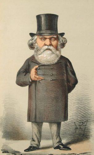 Austen Henry Layard, Vanity Fair, 1869