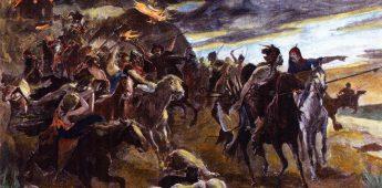 De ineenstorting van het Romeinse gezag in het Westen