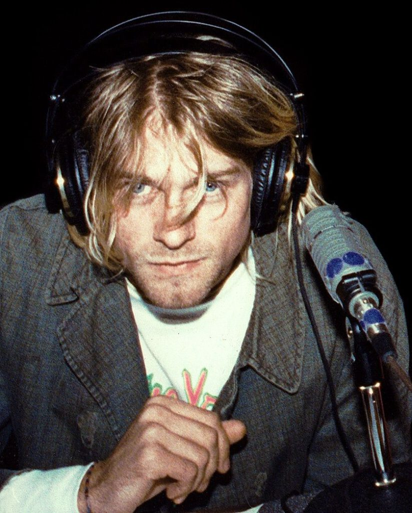Kurt Cobain in 1991