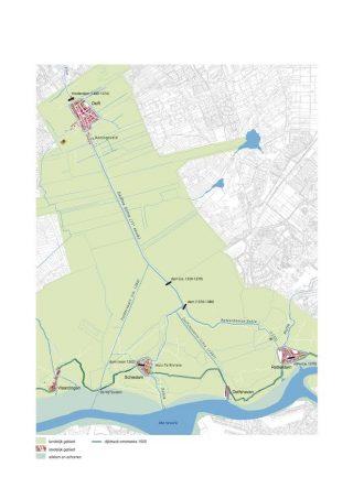 Stadsvorming voor de Gouden Eeuw in het stroomgebied van de Schie (Atlas van Schie)