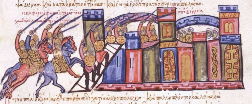 Willekeurige afbeelding van een belegering
