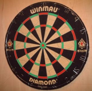 Winmau Dartbord - cc