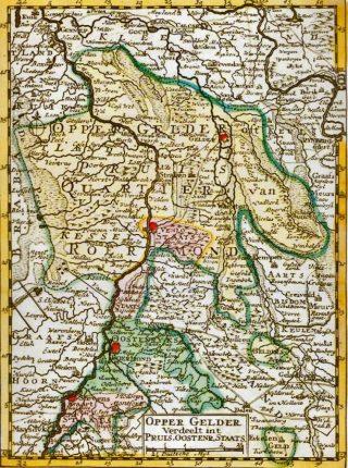 OpperGelre was het Overkwatier; een gebied in (nu) Limburg dat ooit onderdeel was van het vierde kwartier van het hertogdom Gelre. Na de vereniging van Noord- en Zuid-Nederland in het Koninkrijk onder Willem I verdween het geruisloos van de kaart. (Kaart 1750).